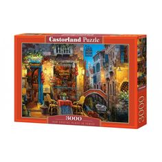 Puzzle Our Special Place in Venice Castorland 3000 pieces from Large choice of Jigsaw Puzzles - Towns and Villages. 2000 Piece Puzzle, Countries Around The World, Famous Places, Jigsaw Puzzles, Painting, Art, High Standards, Popular, Venice