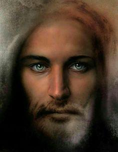 God and Jesus Christ Pictures Of Jesus Christ, Religious Pictures, Jesus Our Savior, Jesus Is Lord, King Jesus, Jesus Painting, Saint Esprit, Jesus Christus, Jesus Face