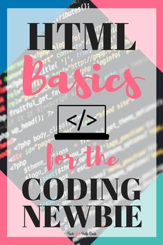 What exactly is HTML? HTML for bloggers explains what exactly HTML is, what it looks like and how it works. Many bloggers are intimidated by code but it really doesn't need to be something complicated #webdesign