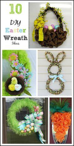10 Fun Easter Wreaths                                                                                                                                                                                 More