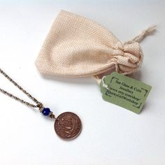 60th birthday gift, 1956 British half penny pendant, present for grandma, mum, aunty, gift for her, English coin necklace,
