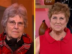 Makeover Shows wow!' glam ambush makeovers shed years, draw cheers | haircuts