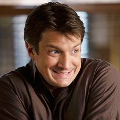 Richard Castle (Nathan Fillion) That face! Richard Castle, Nathan Fillion, Grey's Anatomy, Who Plays Tony Stark, Once Upon A Time, Guardians Of The Galaxy Vol 2, Castle Tv Shows, Stars Play, Castle Beckett