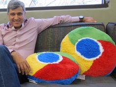 Chrome pillow