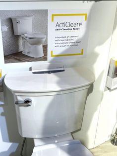 Acticlean American Standard self-cleaning toilet