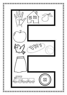 Alphabet Activities, Preschool Activities, Worksheets, Learning Activities, 1 Year, Activities For Kids, Lyrics, Class Room, First Grade
