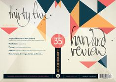 Harvard Review REDUX designed by Alex Camlin