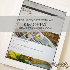 Keep up to date with all Kimorra news on our website www.kimorra.com From new patterns and products to collaborations and concepts our news section will keep you informed.  #Cheshire #Congleton #news #newproducts #collaborations #concepts #design #veneers #fabricveneers #laminates #glasslaminates #UK #UKinnovation #surfacedesign #interiordesign #furnituredesign #jewellery #kitchendesign #Manchester