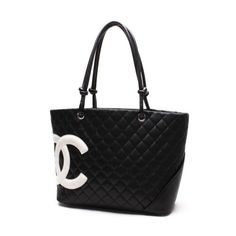 CHANEL Large Tote Cambon Shoulder bags Leather A25169