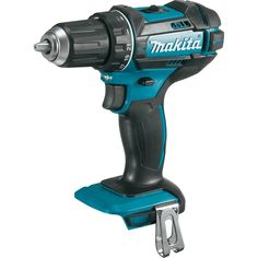 "Makita XFD10Z 18V LXT Lithium-Ion Cordless Driver-Drill, Tool Only, 1/2"". Makita-built 4-pole motor delivers 480 in. lbs. of Max Torque. Mechanical 2-speed transmission (0-600 & 0-1,900 RPM) for a wide range of drilling and fastening applications. Features Extreme Protection Technology (XPT) which is engineered to provide increased dust and water resistance in harsh job site conditions. Dual L.E.D. lights with afterglow illuminate the work area. Ergonomically designed handle with…"