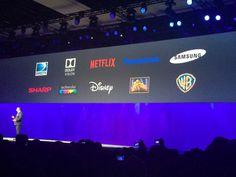 La alianza UHD que nació en el CES. Las Vegas, Netflix, Samsung, Disney, Events, Last Vegas, Disney Art