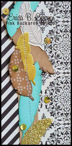 Pink Buckaroo Designs: Scrapmail September- Four Feathers Bundle