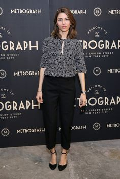 Sofia Coppola attends the Metrograph opening night at Metrograph on March 2, 2016 in New York City.