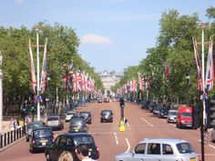 will never forget this exact street packed with thousands of people at the Royal Wedding