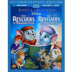 The Rescuers (35th Anniversary Edition) / The Rescuers Down Under (Blu-ray…