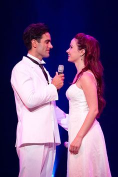 Sierra Boggess and Ramin Karimloo --- I think this is the Four Stars concert in Japan? Gahhh, wish I could go.