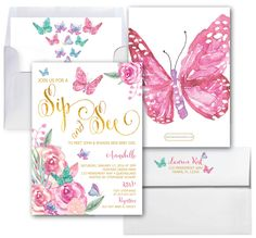 Butterfly Baby Shower Invitations - √ 28 butterfly Baby Shower Invitations , butterflies Baby Shower Invitations Printable File for Girl Sip And See Invitations, Butterfly Invitations, Baby Sprinkle Invitations, Gold Invitations, Invitation Ideas, Invitation Design, Invitation Cards, Printable Baby Shower Invitations, 1st Birthday Invitations