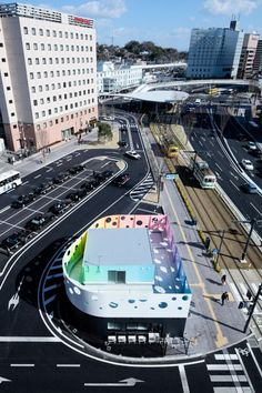 Police station in Kumamoto by Studio Klein Dytham - Japan