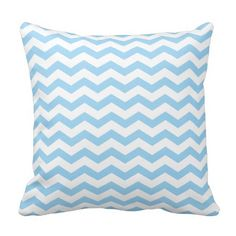 These modern and trendy throw pillows feature a cool light aqua blue and white chevron zigzag pattern. Aqua Throw Pillows, Toss Pillows, Decorative Throw Pillows, Turquoise Chevron, Teal Blue, Wedding Pillows, White Patterns, Custom Pillows, Mint Green