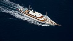 The Luxury Yacht Amphitrite