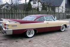 1959 Dodge Coronet Lancer Maintenance/restoration of old/vintage vehicles: the material for new cogs/casters/gears/pads could be cast polyamide which I (Cast polyamide) can produce. My contact: tatjana.alic@windowslive.com