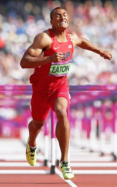 24-year-old Ashton Eaton won the gold medal in the Olympic Decathlon Thursday in London with 8,869 points. Eaton beat his U.S. teammate Trey Hardee, who took home the silver medal with 8,671 points. Leonel Suarez of Cuba took the bronze with 8,523