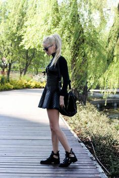 casual outfit - Alina Ceusan Fashion Days, Street Fashion, Women's Fashion, What Should I Wear Today, Woman Style, Fashion Bloggers, Goth, Punk, Street Style