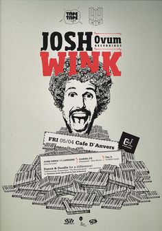 josh wink, my teenage here will come to crash tape tape party ! Tape, Doodles, Movie Posters, Duct Tape, Popcorn Posters, Film Posters, Donut Tower, Posters, Band