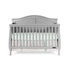 Seamlessly combining comfort and style, the Child Craft Camden 4-in-1 Convertible Crib is the perfect relaxing spot for your child. This convertible crib has a solid wooden construction, which keeps it strong and durable for several years to come. It is convertible and the mattress heights can be adjusted into two different positions. The stylish and graceful crib is available in various finishes, for you to choose from. Featuring an eco-friendly design, Camden 4-in-1 Convertible Crib from…