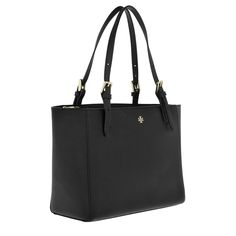 Handtasche, Tory Burch, York Small Buckle Tote Black