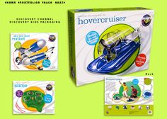 Toy packaging for Discovery Channel