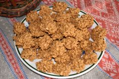 Butterscotch Cookies: made with peanut butter, butterscotch chips, white chocolate chips, peanuts, and rice krispies