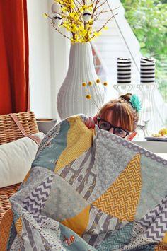 luzia pimpinella: DIY   triangle quilt