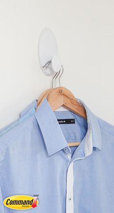 How to free up valuable space with Command™ Clothes Hanger.