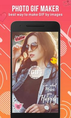 GIF Maker : Photo Gif Maker  Android App  Admob  Facebook Integration Android Gif, Android Apps, Happy Love, Are You Happy, Android Studio, Social Media Apps, Gif Photo, Video Maker, Create Image