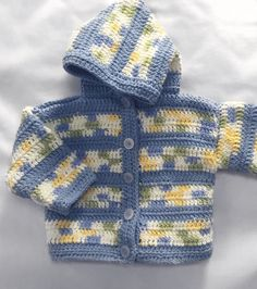 Fun Colored Baby Boy Sweater