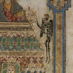 Book of Kells | IE TCD MS 58 folio 202v (detail)
