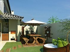 Rosamaria G Frangini | Architecture  Outdoor Living | Small backyard