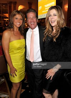 Cindy Frey, Musician Glenn Frey, and Actress Rita Wilson attend the Lupus LA Orange Ball on May 6, 2010 in Beverly Hills, California.