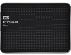 WD My Passport Ultra 1TB USB 3.0 Portable Hard Drive - Black in Hard Drives | JR.com