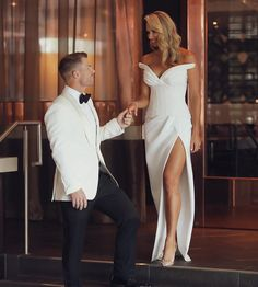 David Warner, Absolutely Stunning, Tom Ford, White Dress, Formal Dresses, Instagram, Sports, Fashion, Formal Gowns