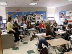 High School English Classroom