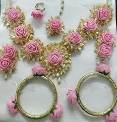 Silk Thread Bangles Design, Thread Jewellery, Lace Jewelry, Custom Jewelry, Handmade Jewelry, Flower Jewelry, Bridal Bangles, Bridal Jewelry, Flower Jewellery For Mehndi