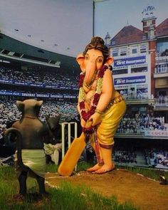 "On Instahghjkkijmmkgram: ""Jai shree Ganesh"". Sri Ganesh, Ganesh Lord, Ganesha Pictures, Ganesh Images, Ganesh Idol, Ganesha Art, Ganesh Bhagwan, Ganpati Picture, Ganesh Photo"