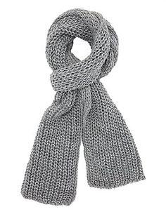 Oblong Knit Scarf: Charlotte Russe  EUR 17.00