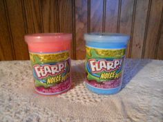2 NEW Jaru Flarp Fart Noise Putty Pink and Blue Ages 3+ #JARU