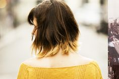 Short edgy ombré! Usually don't like it on short do's but It growing on me!!