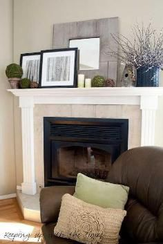 Mantel Decorations / IDEAS & INSPIRATIONS : Decorate Your Mantel for Winter - CotCozy