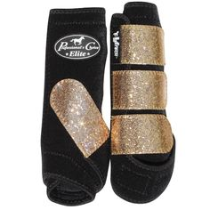 Champagne Glitter Professional's Choice splint boots