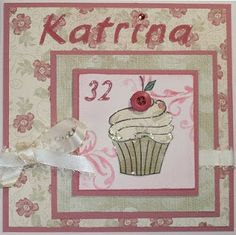 Craftychick Cards: Cupcake Inspiration Challenge # 83